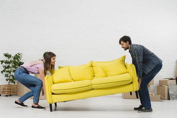 Mire figyeljen bútorok pakolása közben?