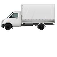 költöztető teherautó ikon